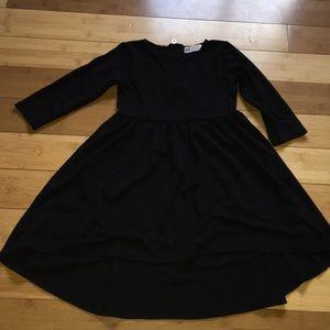 Girls hi-low dress